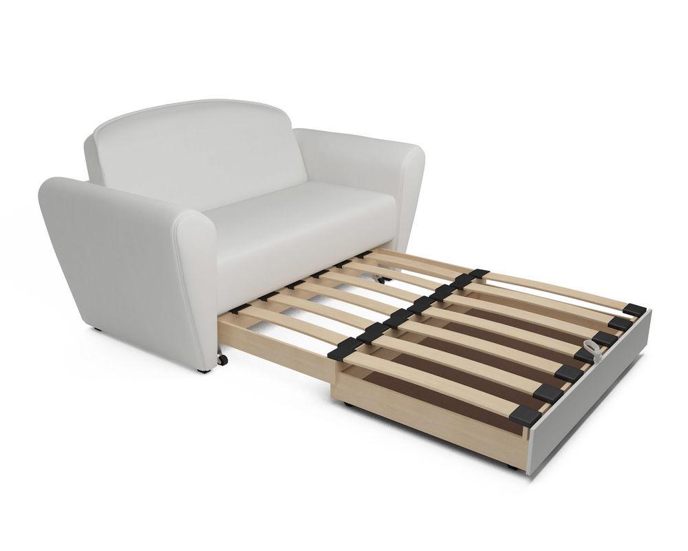 Диван Мебель-АРС Квартет белая экокожа - фото 5
