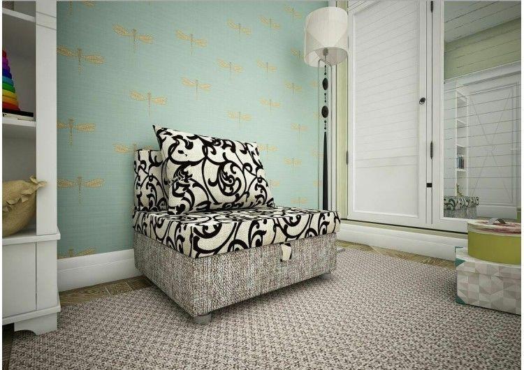 Кресло Раевская мебельная фабрика вензеля беж+рогожка беж 00715 - фото 1