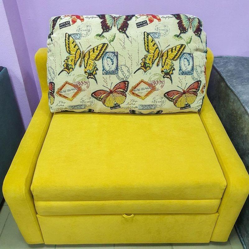 Диван DM-мебель Сиеста 1 (желтый) - фото 1