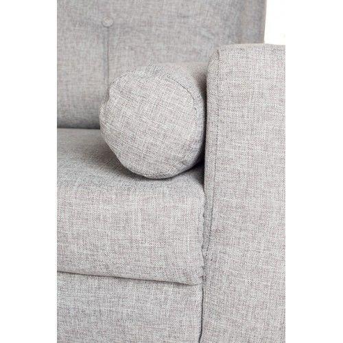 Диван Альта Мебель Bjorn (Бьёрн) светло-серый - фото 4