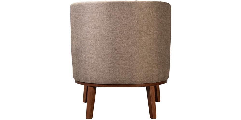 Кресло Woodcraft Шафран Textile Brown - фото 4