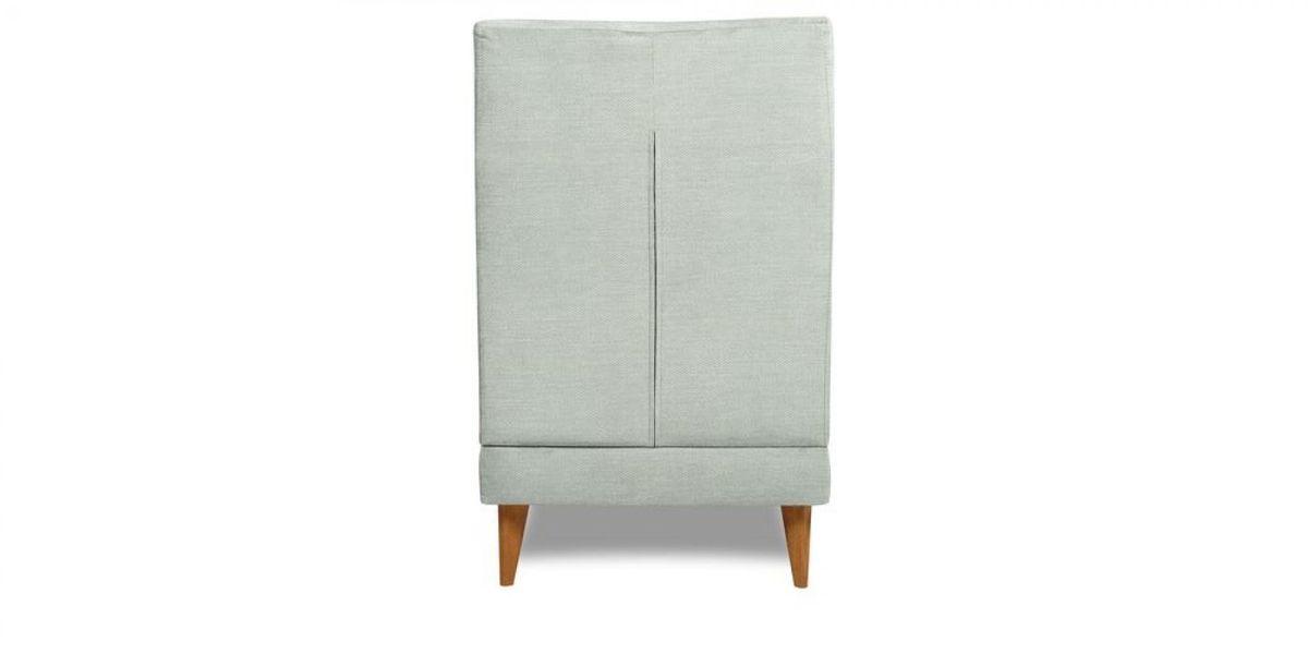 Кресло WOWIN Айленд (Пастельно-голубая рогожка) - фото 5