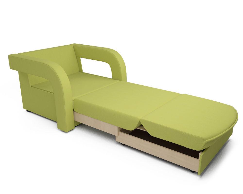 Кресло Мебель-АРС Кармен-2 зеленый (рогожка) - фото 7