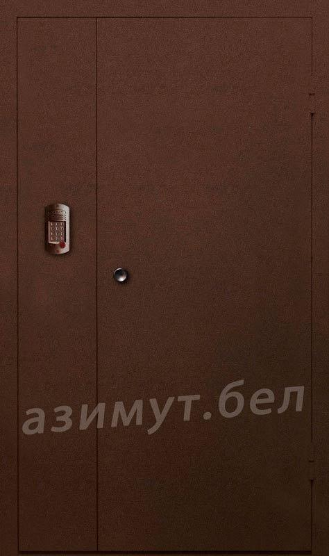 Дверь промышленная, противопожарная Азимут Домофонная - фото 1