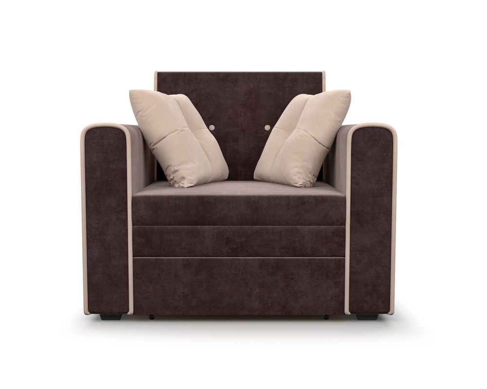 Кресло Мебель-АРС Санта (кордрой коричневый) - фото 2