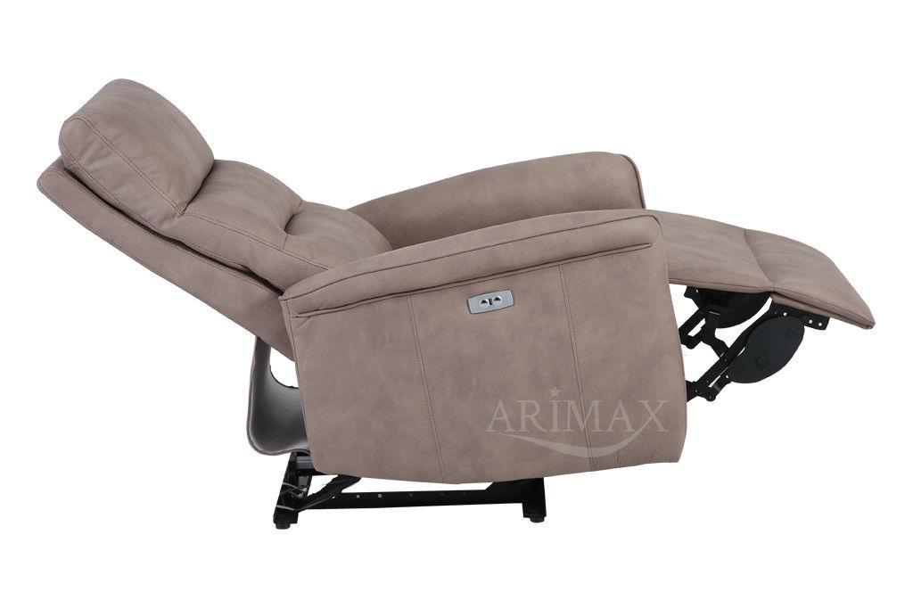Кресло Arimax Dr Max DM02002 (Светло-коричневый) - фото 5