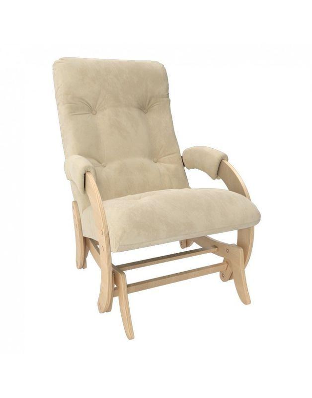Кресло Impex Кресло-гляйдер Модель 68 Verona натуральный (Vanilla) - фото 1
