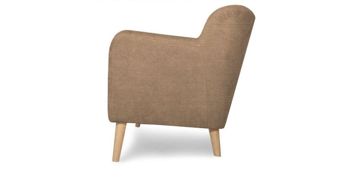 Кресло WOWIN Ингрид (Пудровая микророгожка) - фото 4