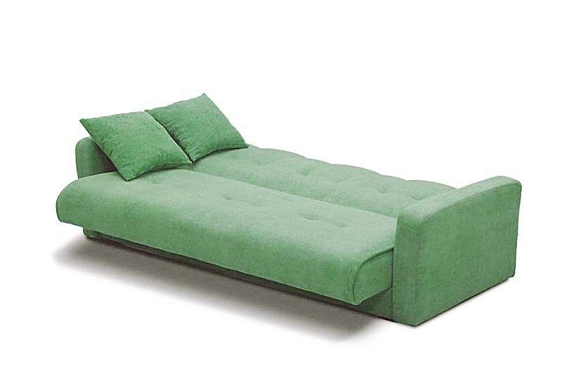 Диван Луховицкая мебельная фабрика Милан 120х190 гобелен/шенилл зеленый - фото 4