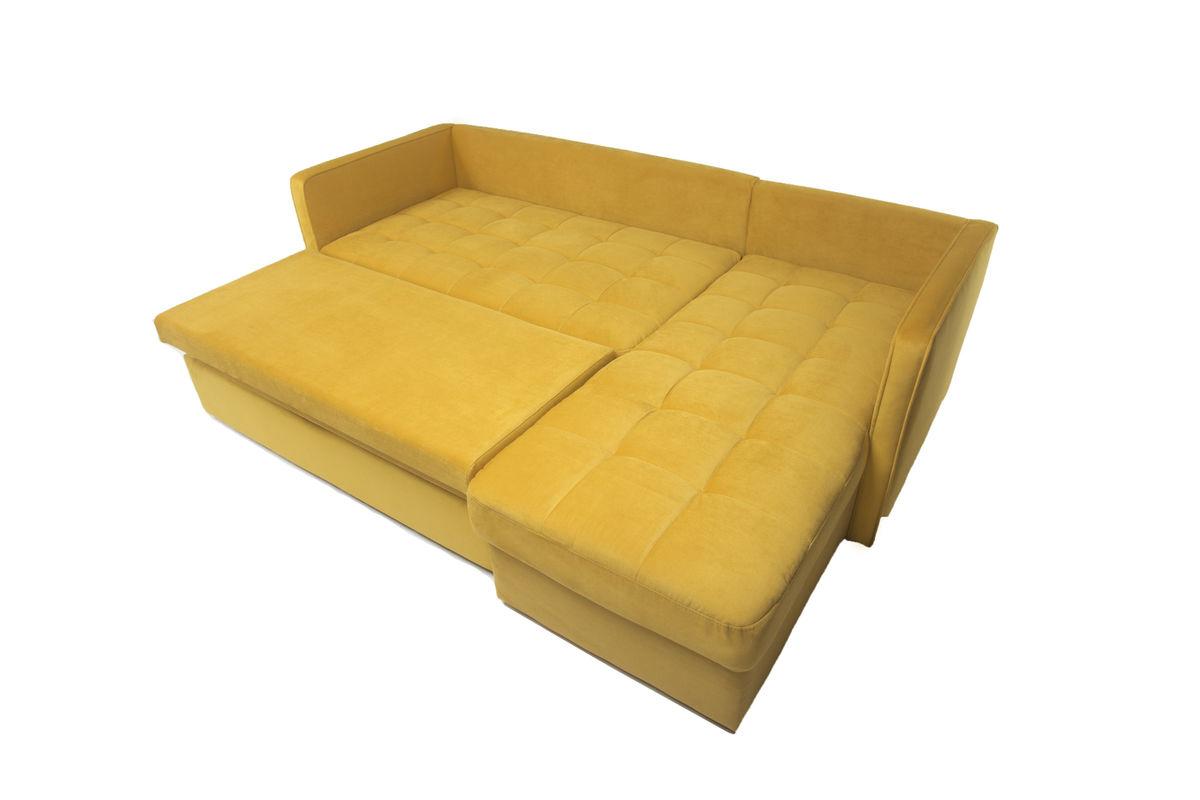 Диван Puffo Ливерпуль Velvet Yellow - фото 7