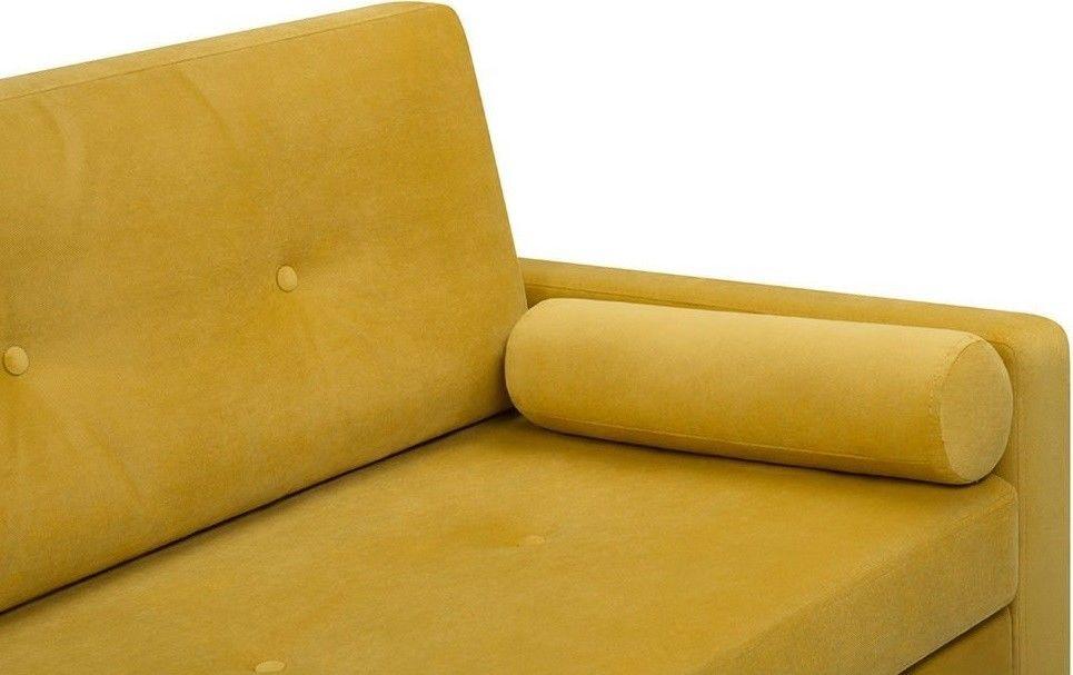 Диван Woodcraft прямой Динс Velvet Yellow - фото 5