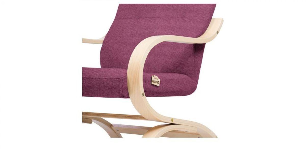 Кресло WOWIN Вейв (Фуксия велюр) - фото 4
