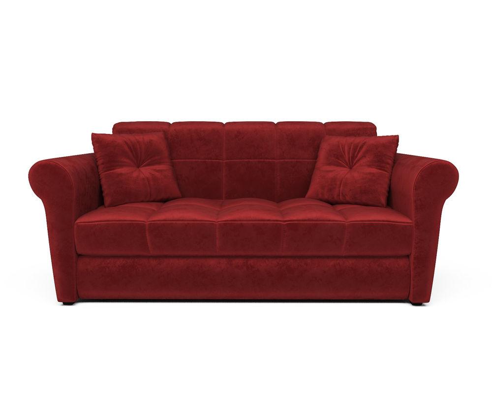 Диван Мебель-АРС Гранд (бархат красный / STAR VELVET 3 DARK RED) - фото 2