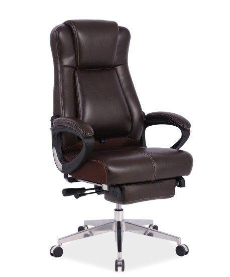Офисное кресло Signal President (коричневый) - фото 1