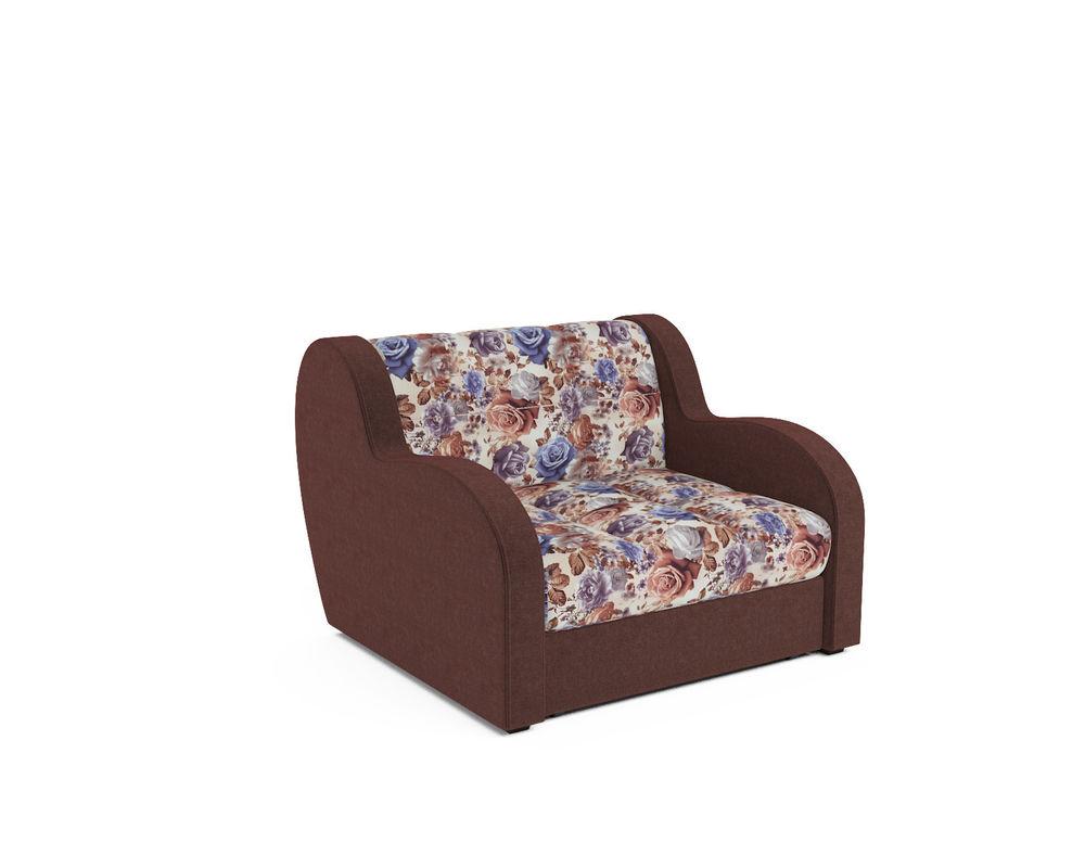 Кресло Мебель-АРС Аккордеон Барон цветы (жаккард + микровелюр) - фото 1