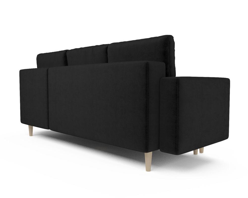Диван Мебель-АРС Белфаст (велюр черный / НВ-178/17) - фото 4