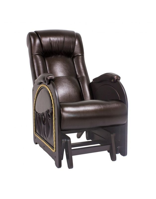 Кресло Impex Кресло-гляйдер Модель 48 экокожа (oregon 120) - фото 1