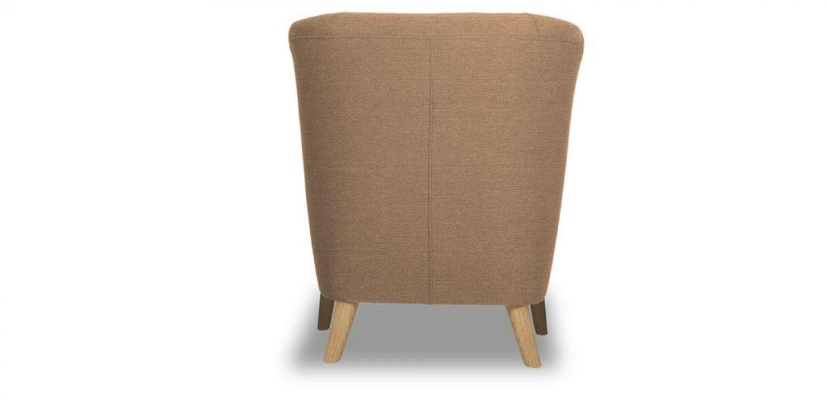 Кресло WOWIN Ингрид (Пудровая микророгожка) - фото 5