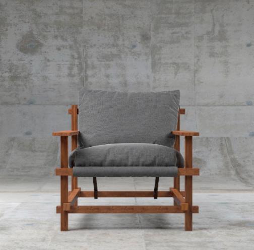 Кресло ZDreva Patio 65x75x45 - фото 2
