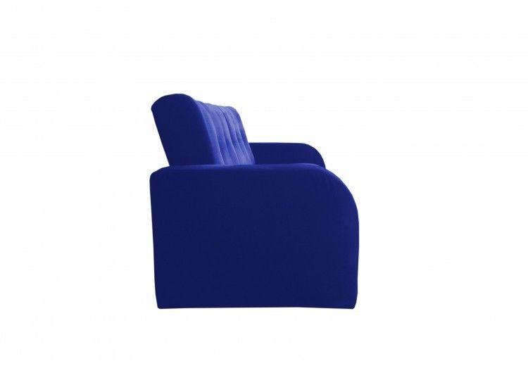 Диван Луховицкая мебельная фабрика Марсель (велюр синий) 140x190 - фото 4