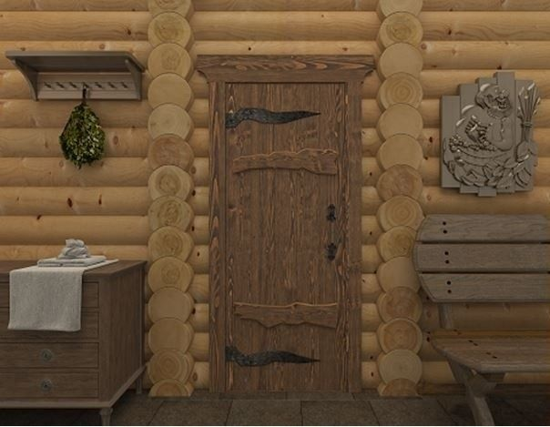 Дверь для бани и сауны Doorwood Русь - фото 2