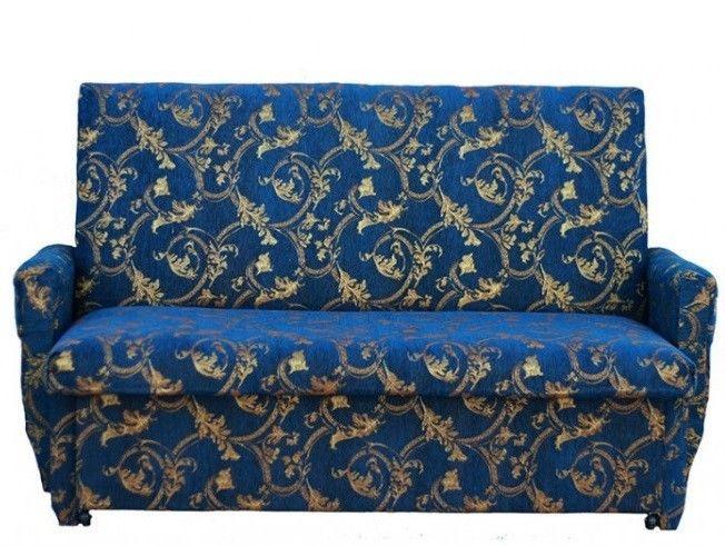 Диван Кристалл Эконом Гобелен (80x195) синий - фото 1
