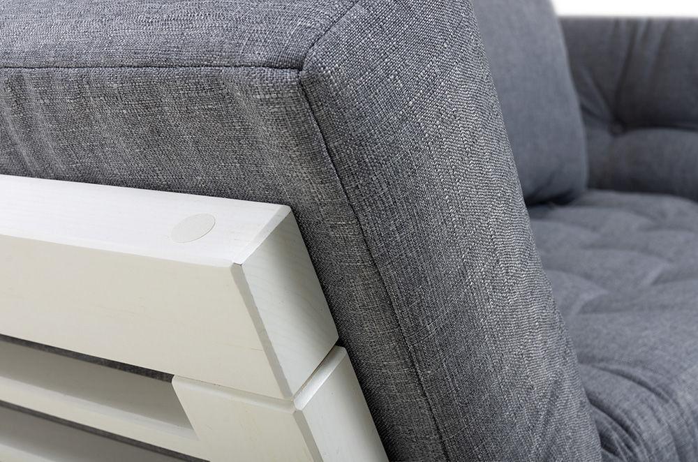 Диван Woodcraft Кушетка Балтик Textile Grey - фото 11