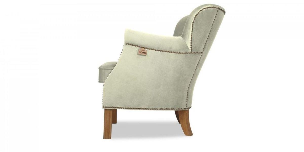 Кресло WOWIN Голден (Кремовый велюр) - фото 3