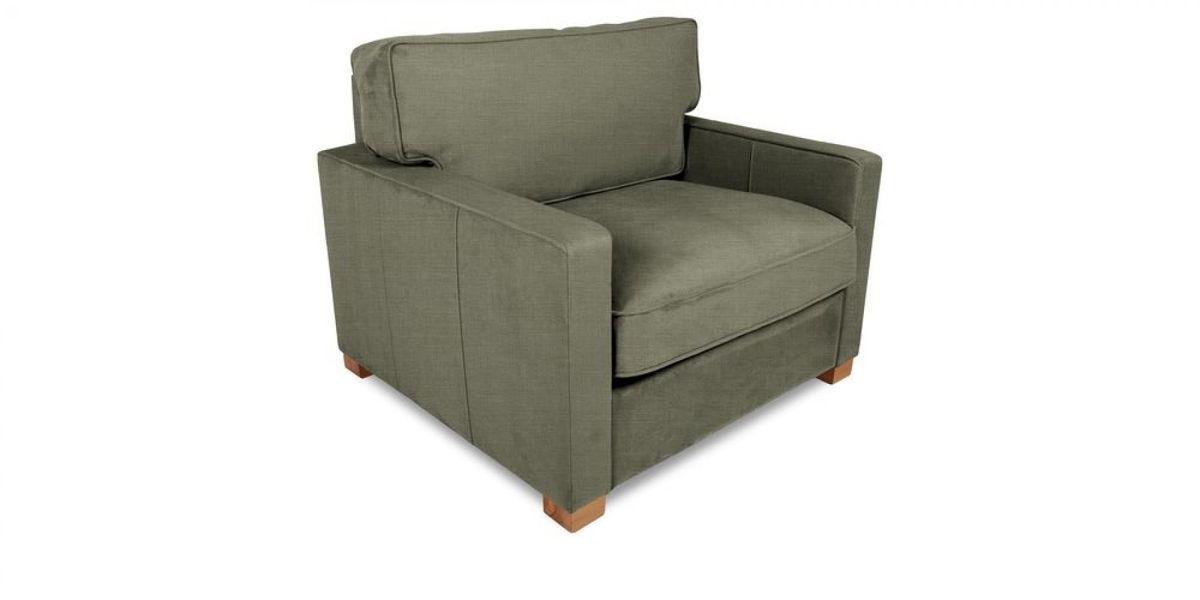 Кресло WOWIN Табу (Металлическо-серая рогожка) - фото 1