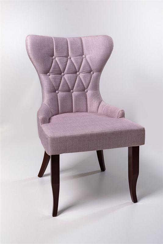 Кресло ФорестДекоГрупп Мимоза (розовый/черный) MIMOZA-PK-BL - фото 1