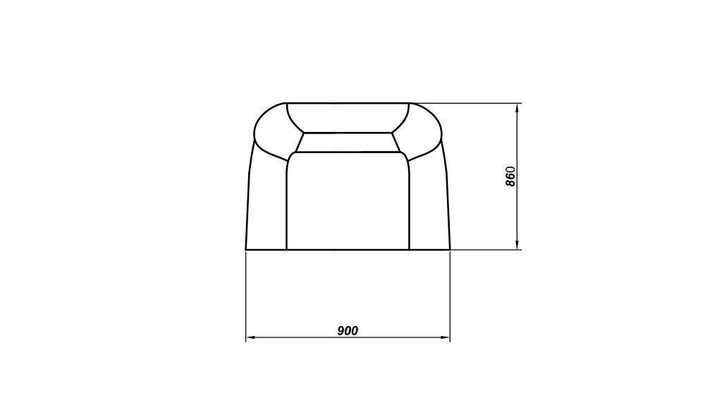 Кресло LAMA мебель Денвер - фото 6