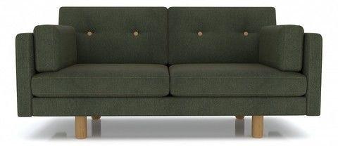 Диван Anderson Ингвар М велюр зеленый - фото 1