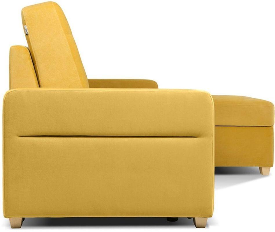 Диван Woodcraft Модульный Гувер-2 Velvet Yellow (уцененный) - фото 14