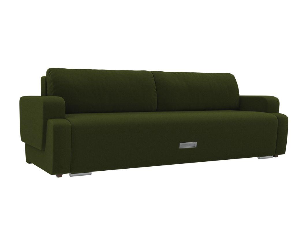 Диван ЛигаДиванов Ника микровельвет (зеленый) - фото 1