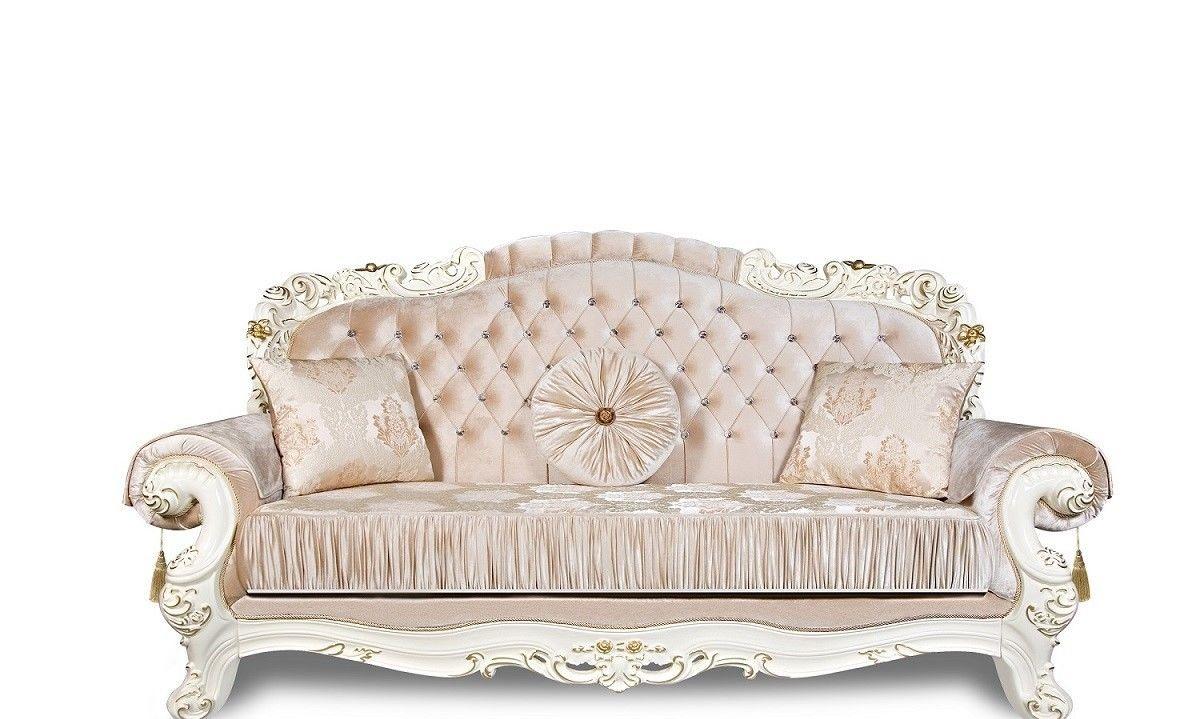 Элитная мягкая мебель Фабрика №1 Аделина крем - фото 1