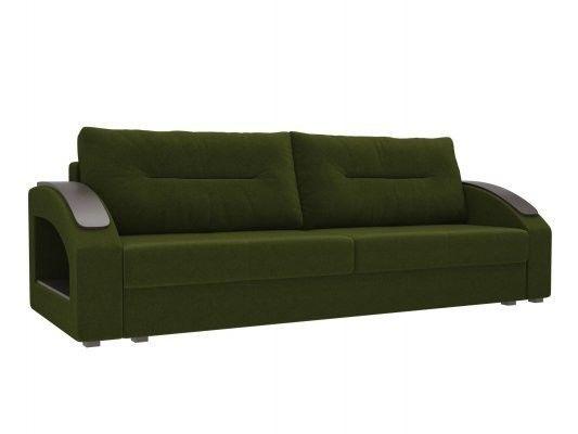 Диван ЛигаДиванов Канзас 100960 микровельвет зеленый - фото 1