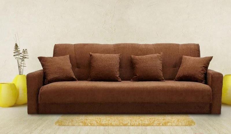 Диван ПромТрейдинг Милан 120 с пружиннным блоком (коричневый) - фото 5