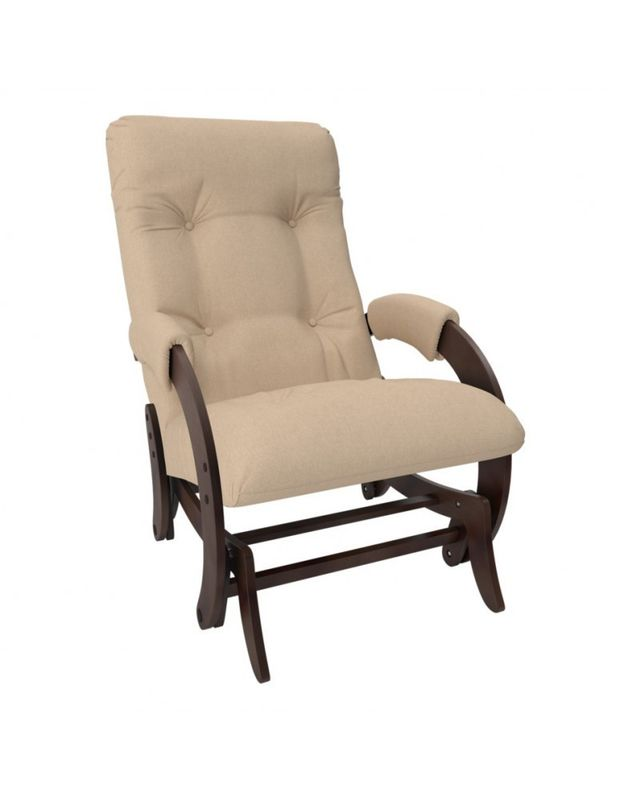 Кресло Impex Кресло-гляйдер Модель 68 Montana орех (Montana 804) - фото 3