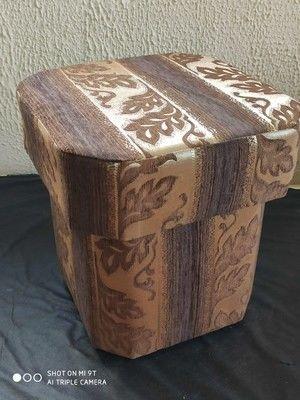 Пуфик Вливск-Мебель Восьмигранный 22 - фото 1