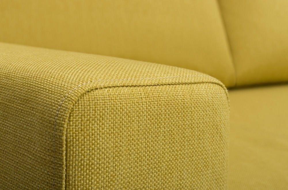Диван Woodcraft Порту Textile Yellow - фото 10
