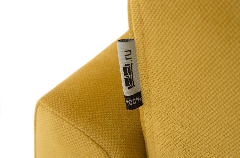 Диван Woodcraft Модульный Гувер-2 Velvet Yellow (уцененный) - фото 22