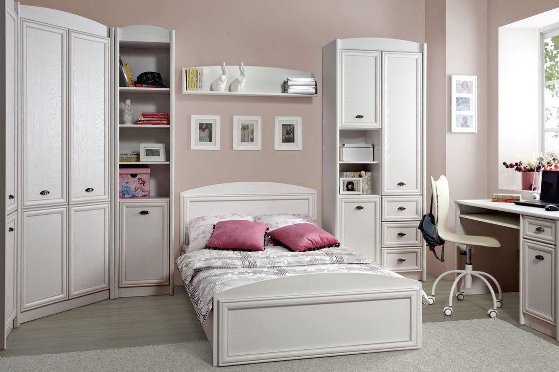 Кровать BRW Salerno LOZ/120 белый - фото 3