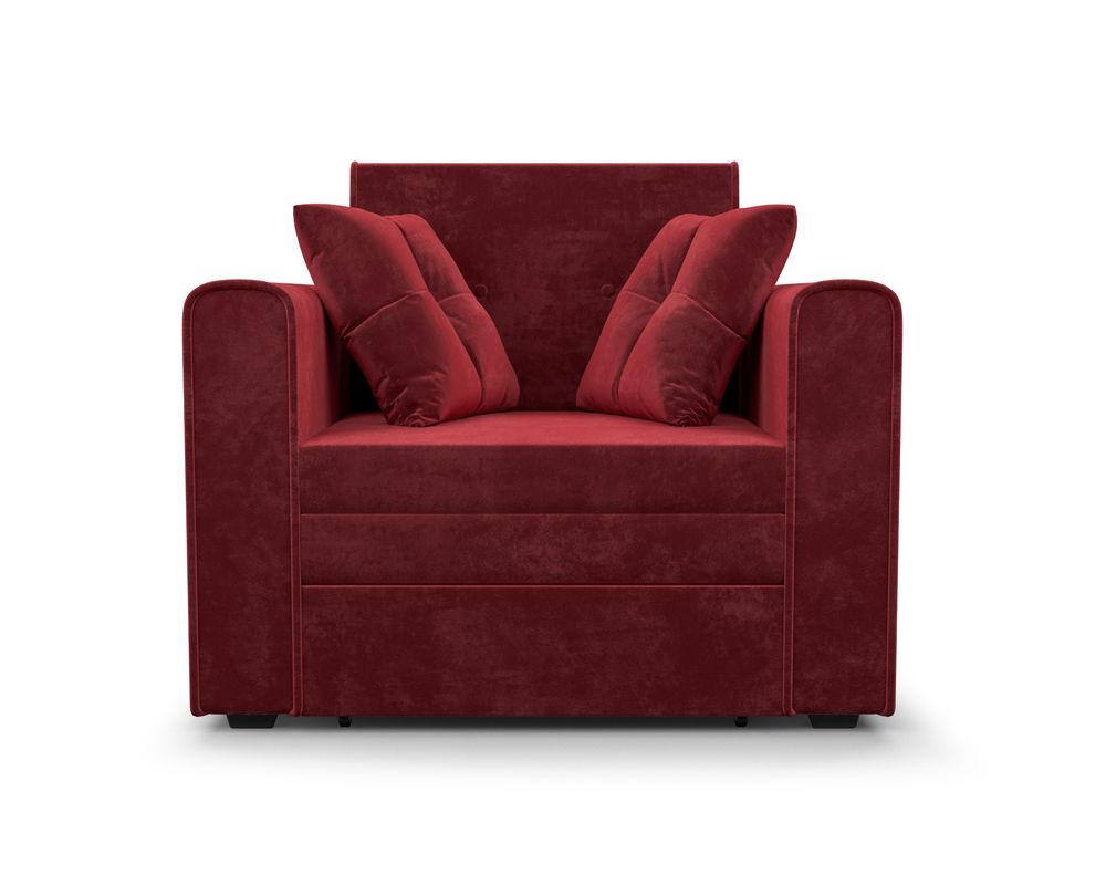 Кресло Мебель-АРС Санта (бархат красный) - фото 2