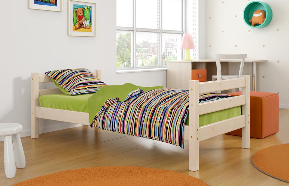купить детскую кровать соня вариант 1 мебельград в минске