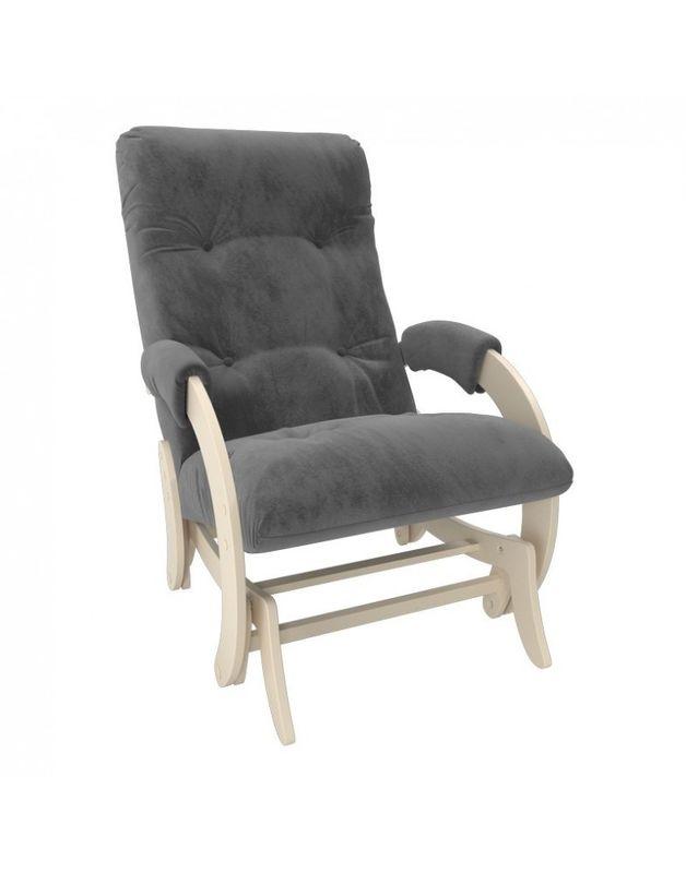 Кресло Impex Кресло-гляйдер Модель 68 Verona сливочный (light grey) - фото 3