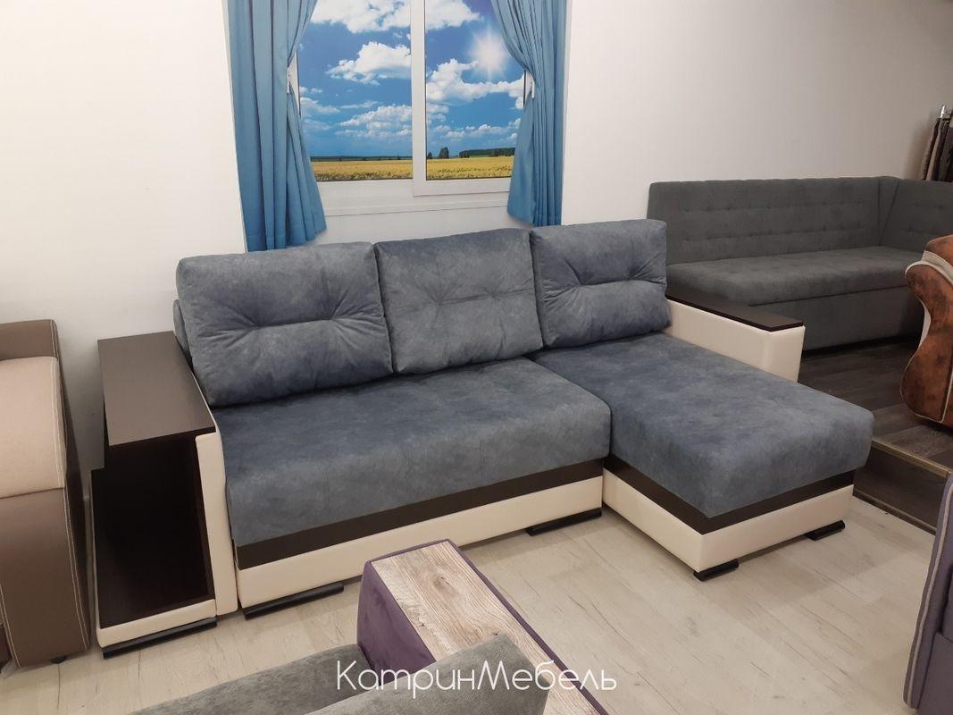 Диван DM-мебель Мадрид-4 угловой (серый) - фото 1