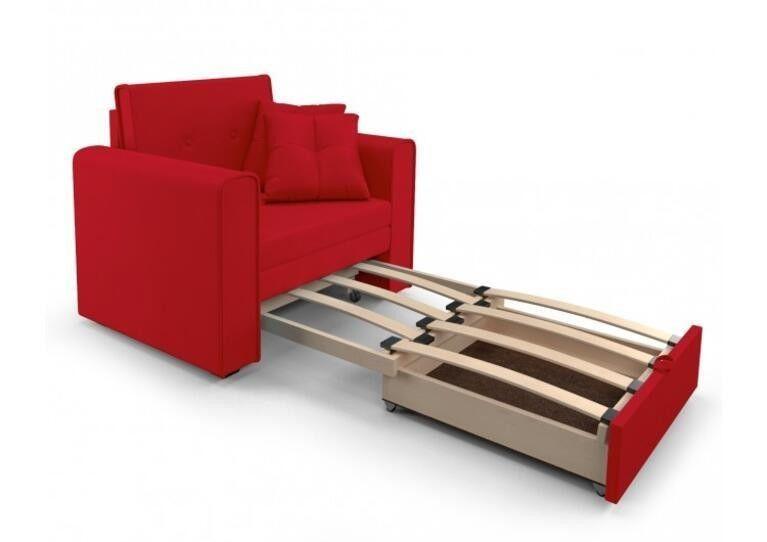 Кресло Craftmebel Санта (кордрой красный) - фото 3