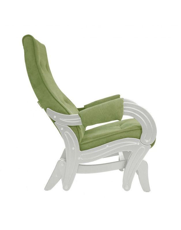 Кресло Impex Кресло-гляйдер Модель 708 Verona сливочный (Antrazite grey) - фото 5