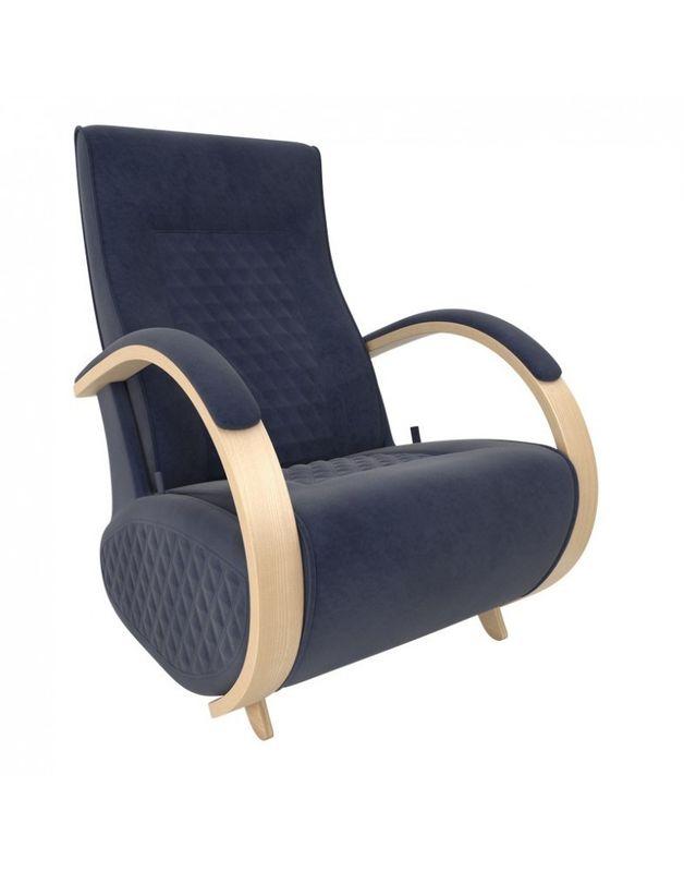 Кресло Impex Balance-3 Verona  натуральный (denim blue) - фото 1