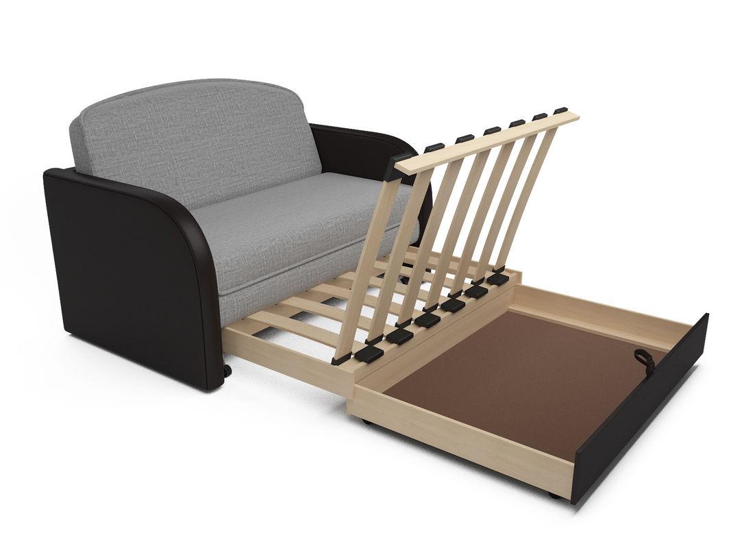 Диван Мебель-АРС Малютка (рогожка серая) - фото 7
